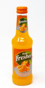 Natural Sparkling Mineral Water with Mandarin Orange Fruit | Fresher (6 x 250ml)