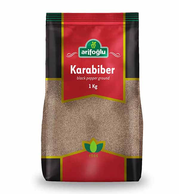 Pepper | Grounded Black Pepper | Arifoglu - 1kg