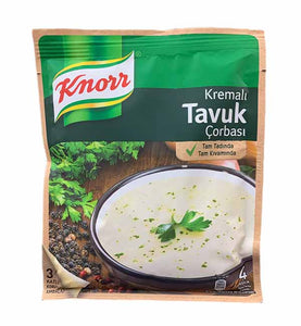 Soup | Cream & Chicken | Knorr - 65gm