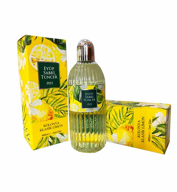Cologne | Spay Lemon Cologne | Eyup Sabri - 400ml  Sprey Limon Kolanya
