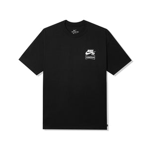 WASTED YOUTH x Nike SB D.B.M.A. TEE - BLACK