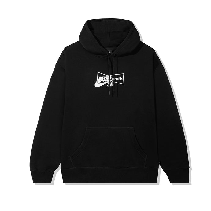 WASTED YOUTH x Nike SB HOODY - BLACK