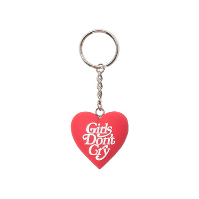 GDC HEART KEYCHAIN - RED