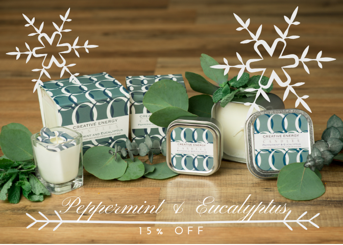 See What Our Peppermint & Eucalyptus Candle Can Do For YOU!