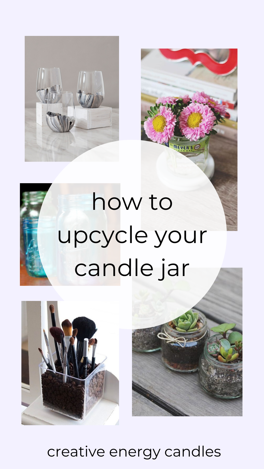Upcycle Your Candle Jar