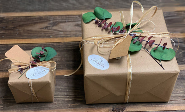 Gift Wrap Creative Energy candles