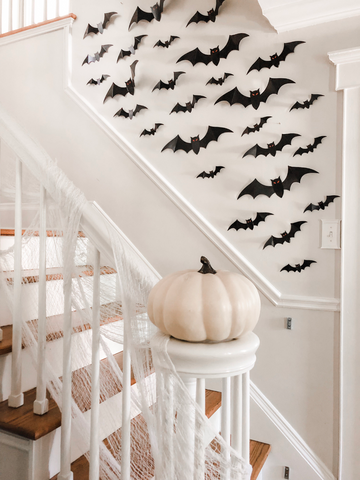 diy halloween decoration craft paper bats