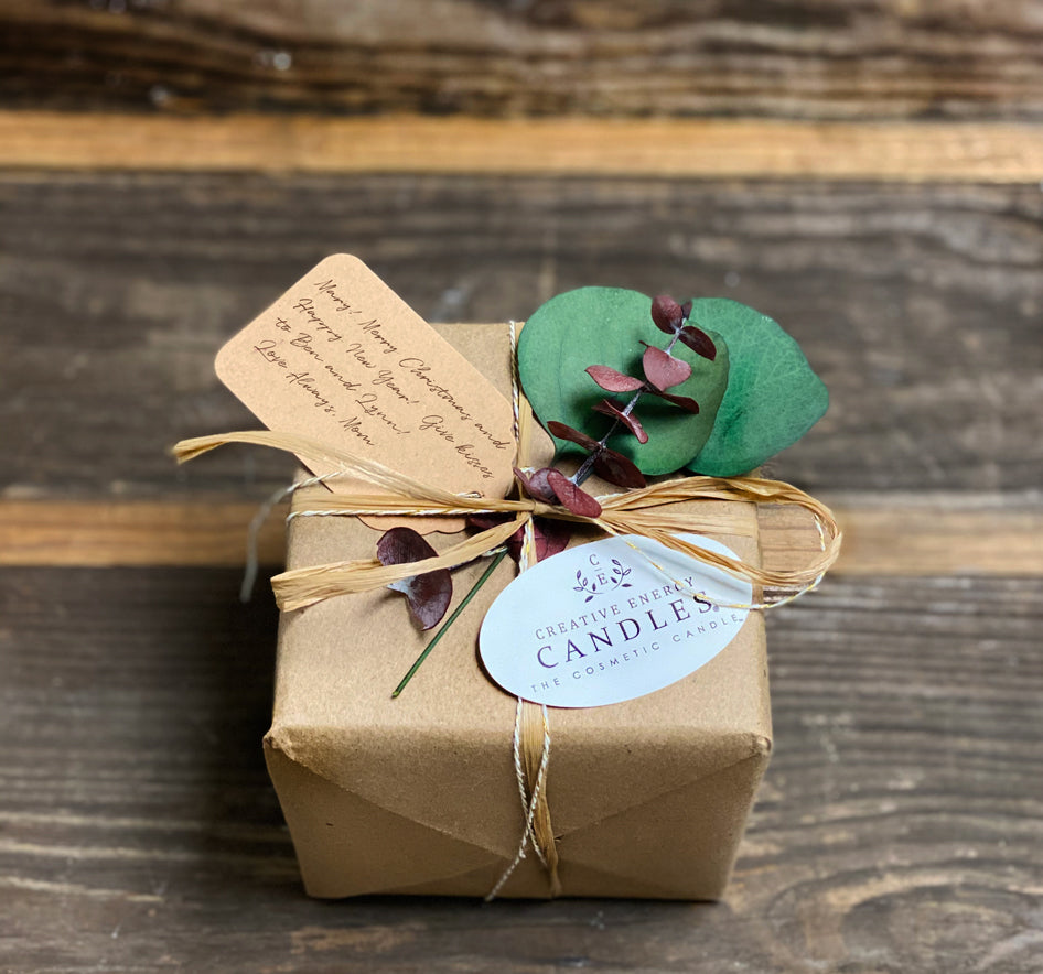 Seasonal Gift Wrap - Creative Energy Candles