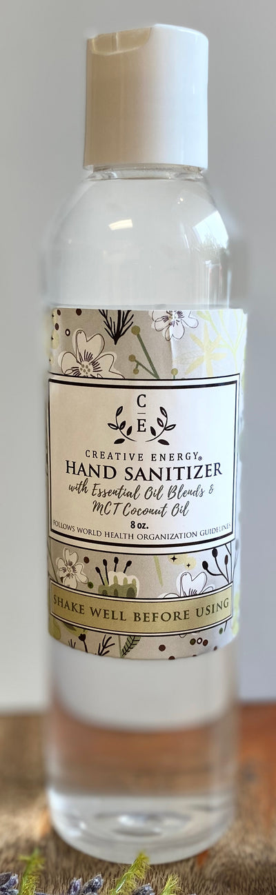 Hand Sanitizer - 8 oz Bottle