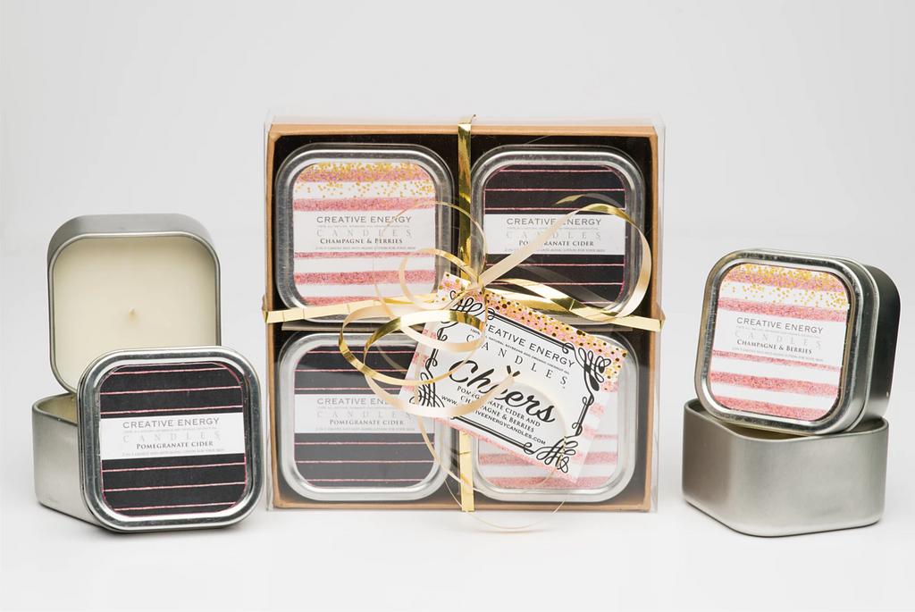 Cheers Gift Set - Creative Energy Candles