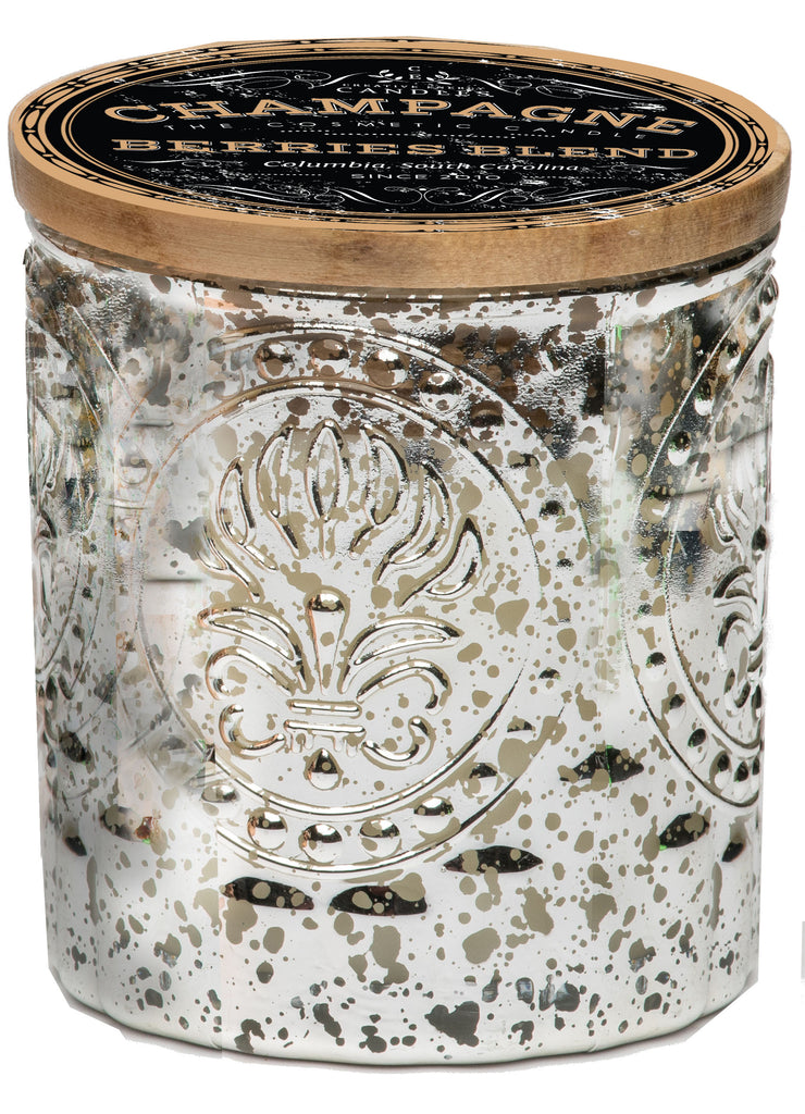 Champagne & Berries - Silver - Creative Energy Candles