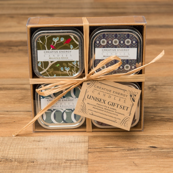Unisex Gift Set - Creative Energy Candles