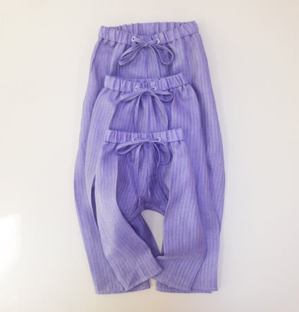 Purple Linen Pants