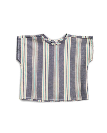 Hudson Bay Blue Stripe Top