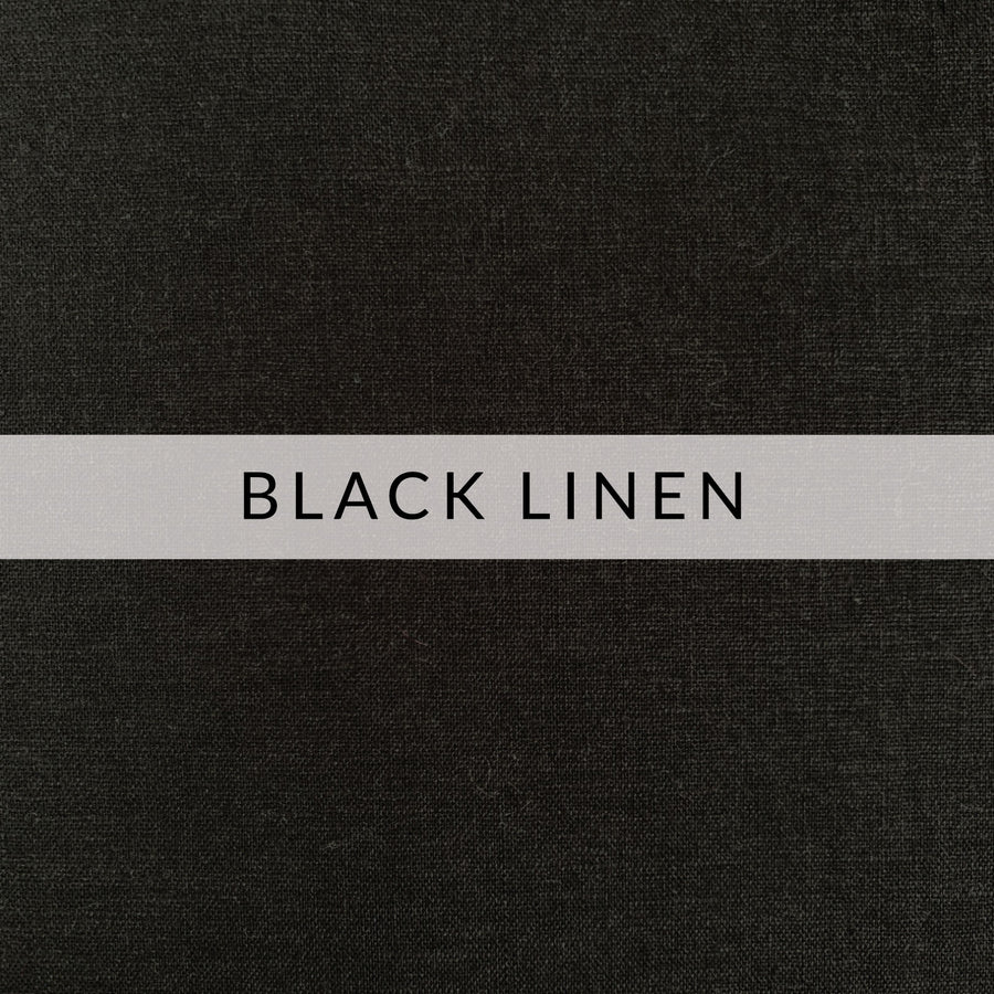 Filter Pocket Mask | Black Linen