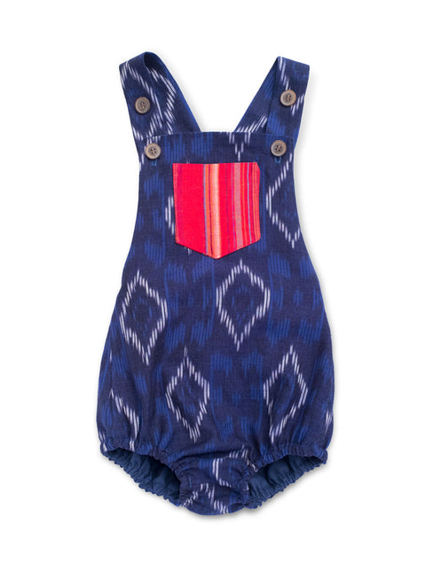 Blue Ikat Sunsuit