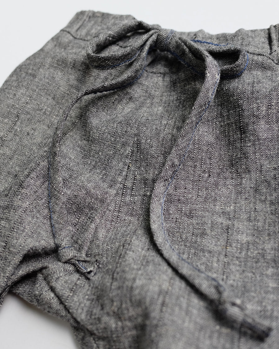 SALE Charcoal Chambray Pants