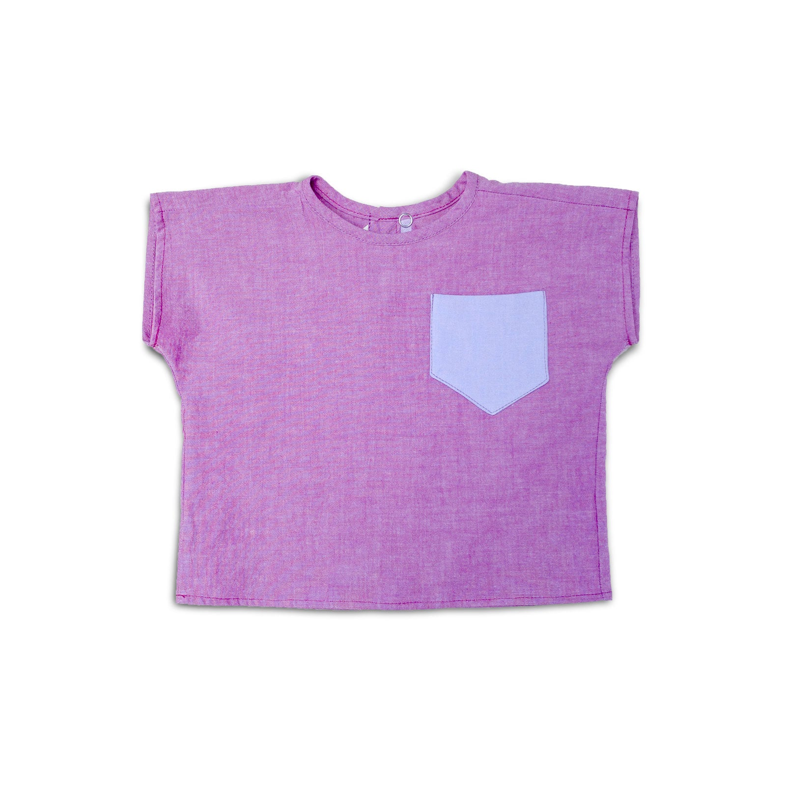 Lilac Pocket Top