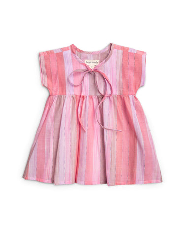 Multi-Pink Stripe Dress