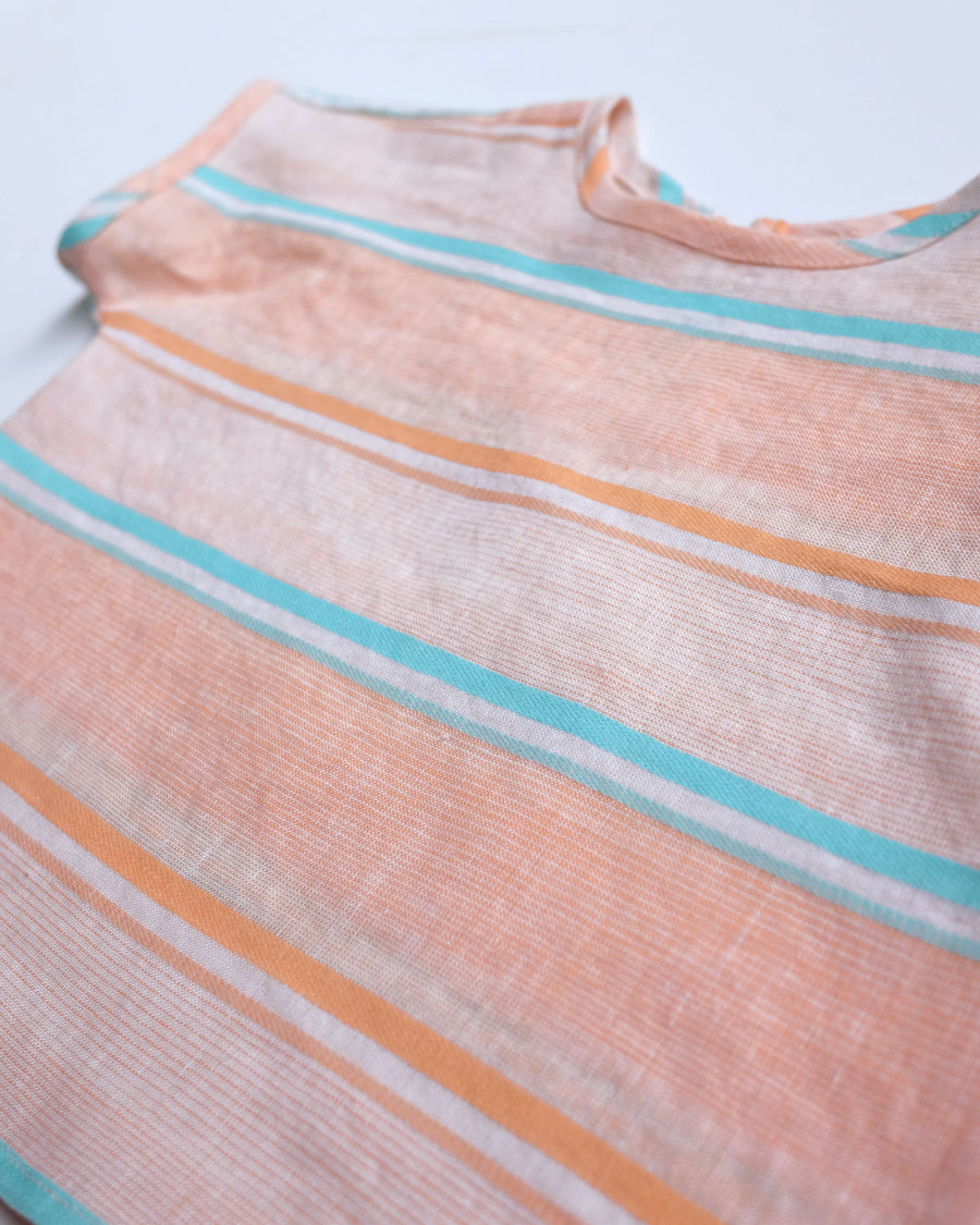 Peach Pastel Striped Top | Add-On