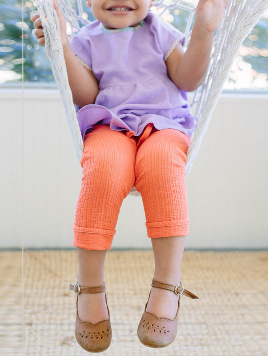 Persimmon Drawstring Pants