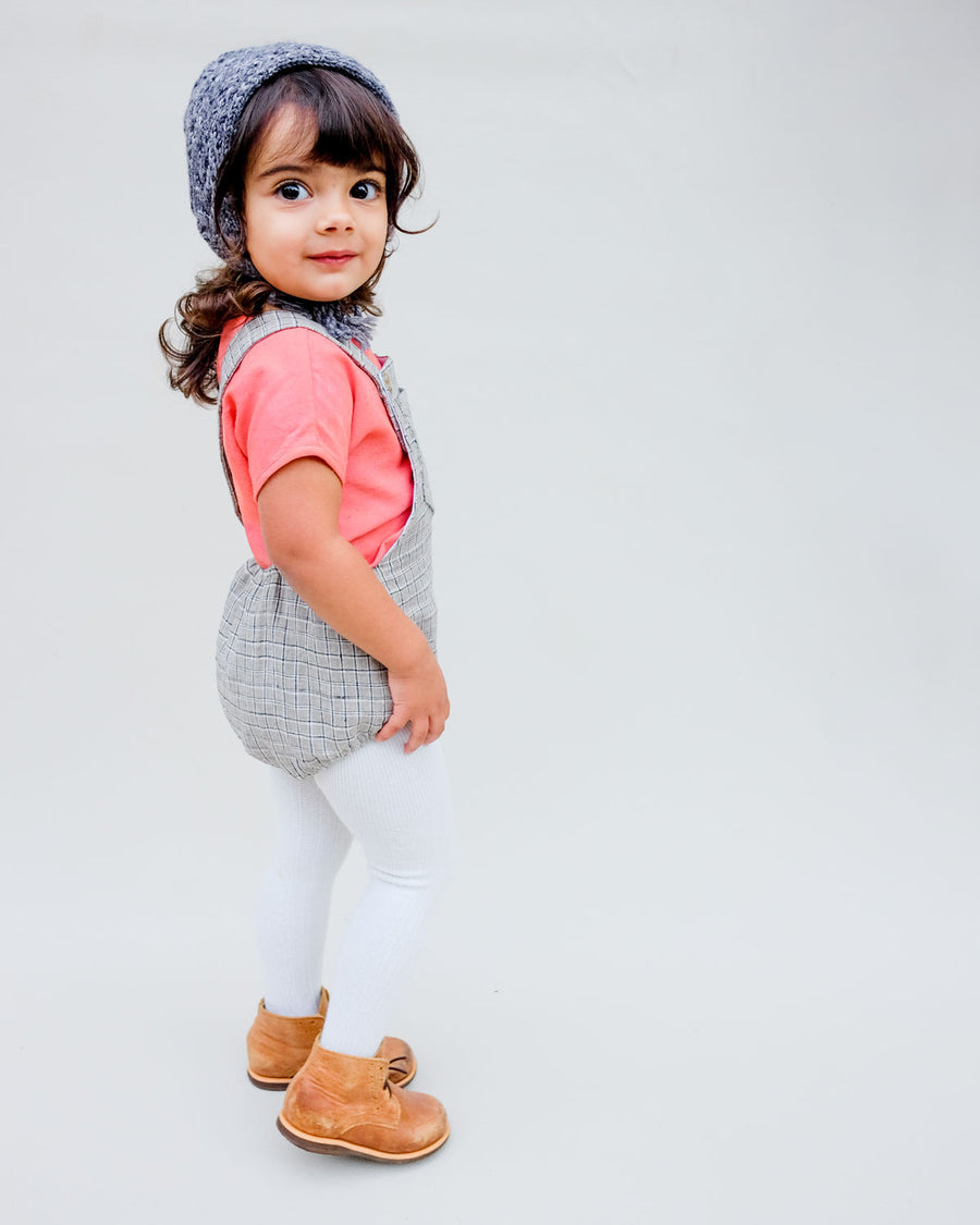 SALE Desert Plaid Pocket Sunsuit