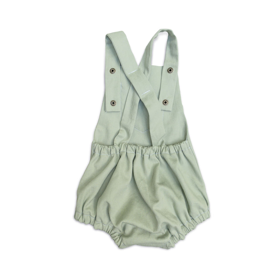 Earth Day Sage Sunsuit
