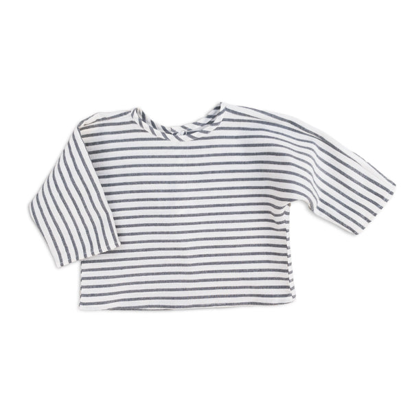 Sailor Stripe Flannel Top