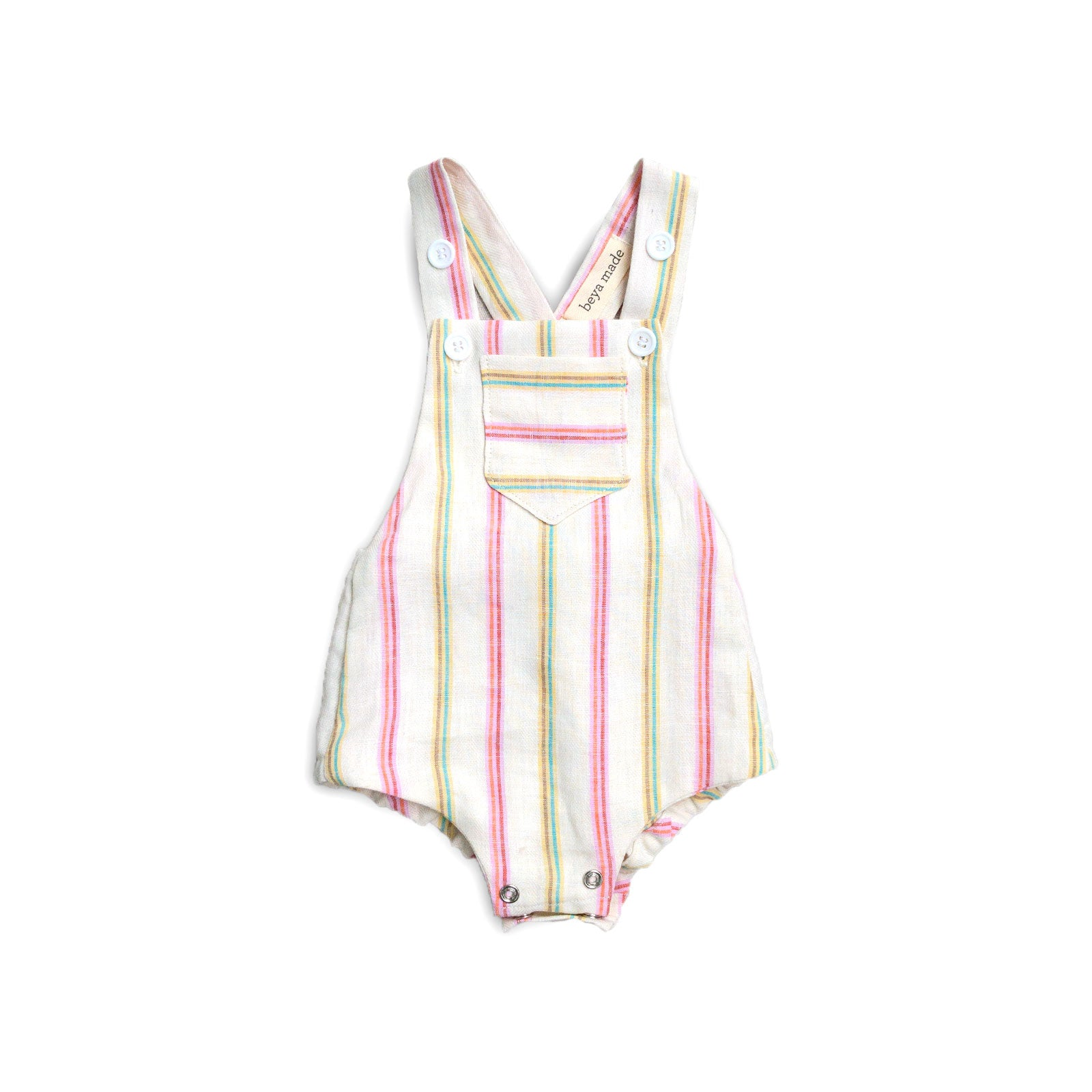 Watermelon Stripe Sunsuit Romper