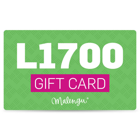 Gift Card L1,700