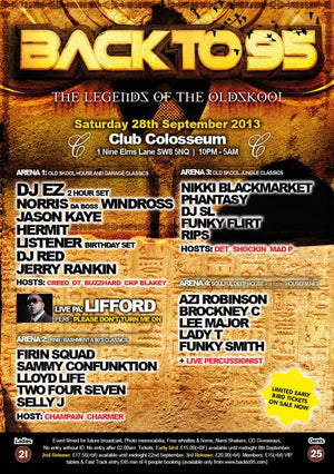 BACKTO95 LEGENDS OF THE OLDSKOOL