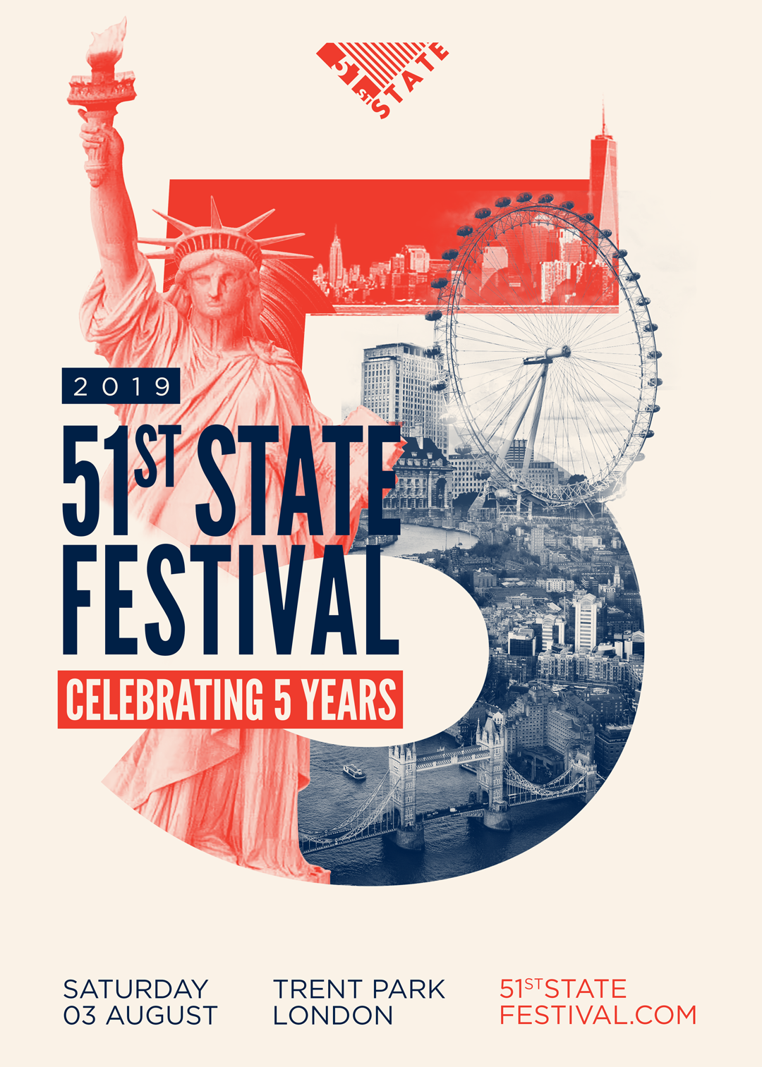 BACKTO95 STAGE @ 51ST STATE FESTIVAL 2019