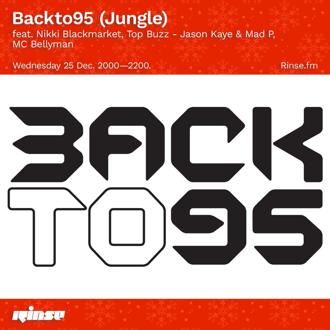RINSE FM X BACKTO95 TAKEOVER