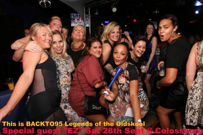 BACKTO95 LEGENDS OF THE OLDSKOOL - 28TH SEPTEMBER 2013