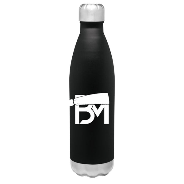 BM Insulated Hot/Cold Thermal Bottle - Black - Baker Mayfield Official