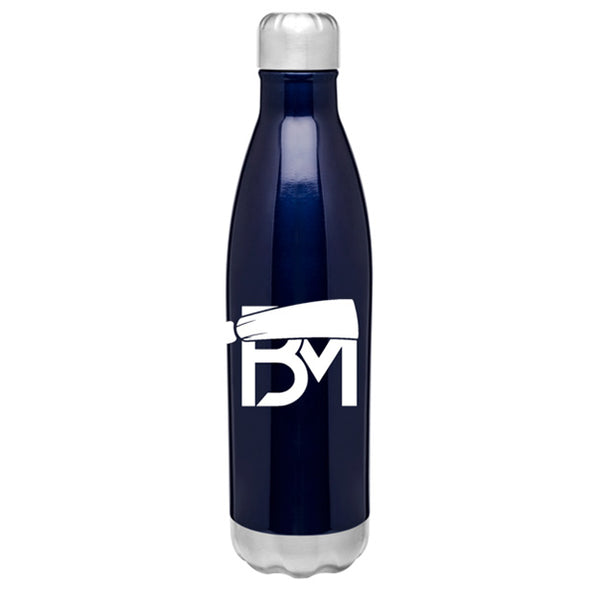 BM Insulated Hot/Cold Thermal Bottle - Blue - Baker Mayfield Official