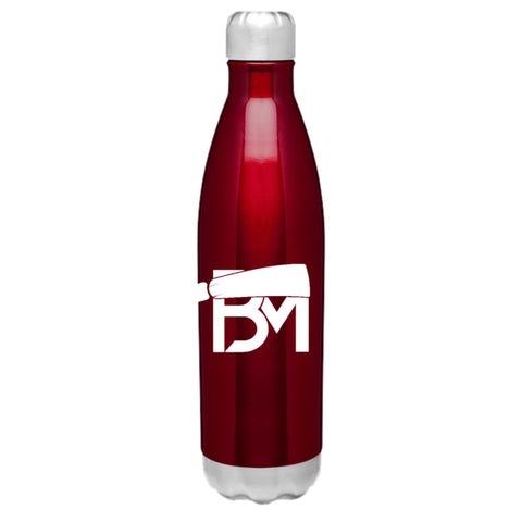 BM Insulated Hot/Cold Thermal Bottle - Crimson - Baker Mayfield Official