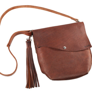 The Peyton Crossbody Leather Bag-Liv & B