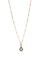Load image into Gallery viewer, Daring Pave Diamond Necklace Small-Liv & B