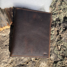 Load image into Gallery viewer, Find your adventure Leather Passport book