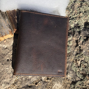 Find your adventure Leather Passport book