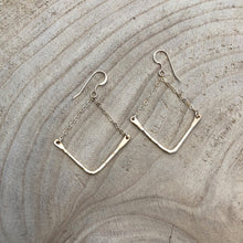 Load image into Gallery viewer, Evelyn Gold Fill Earrings-Liv & B