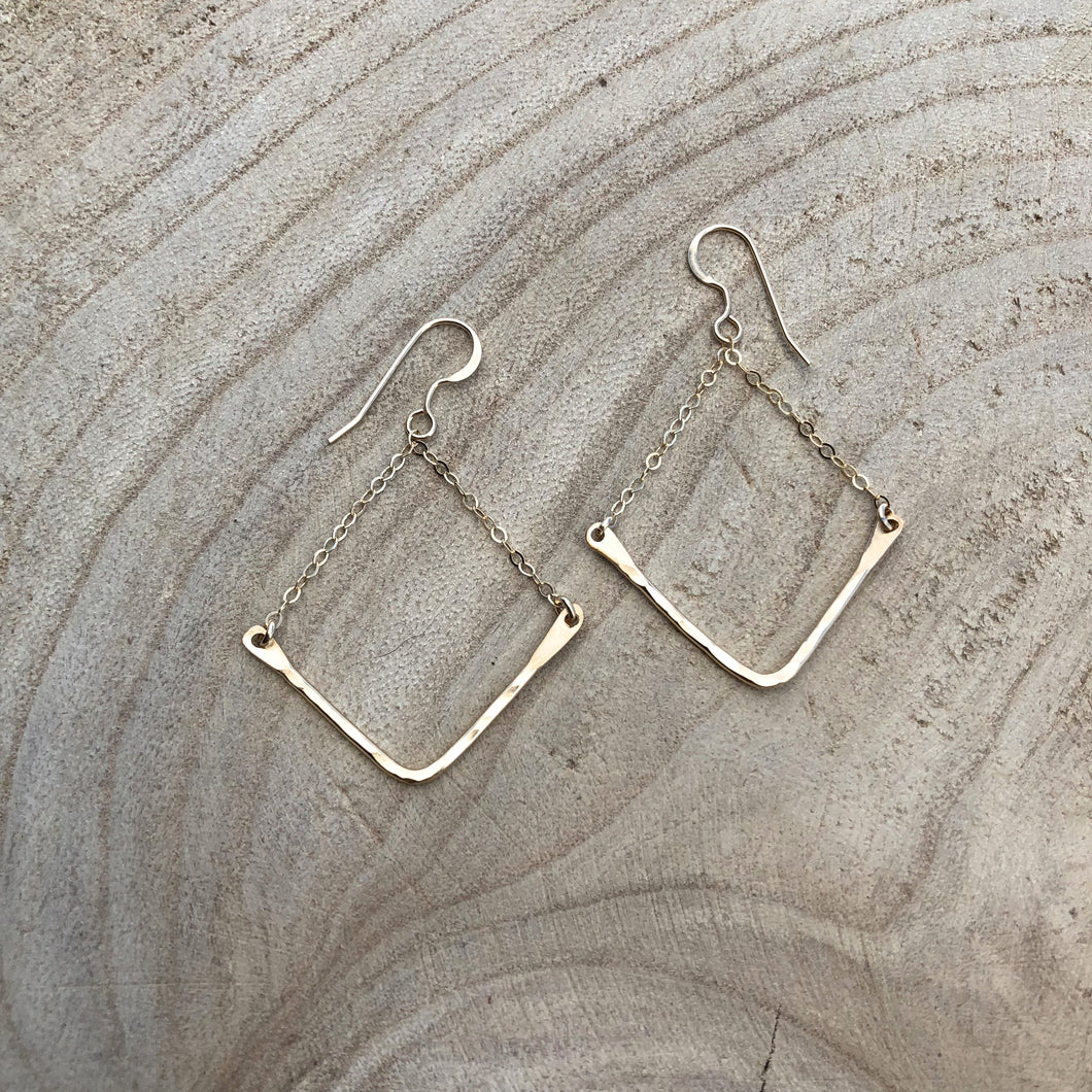Evelyn Gold Fill Earrings-Liv & B