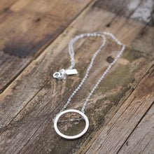 Load image into Gallery viewer, Aligned Circle Sterling Silver Necklace-Liv & B