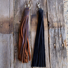 Load image into Gallery viewer, Handmade Leather Tassel-Liv & B