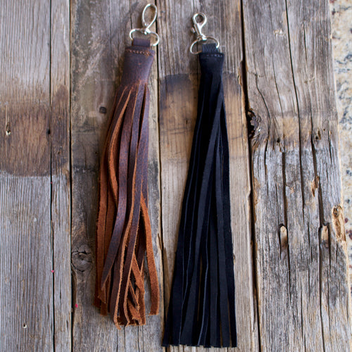 Handmade Leather Tassel-Liv & B