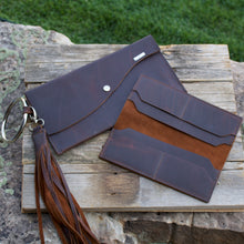 Load image into Gallery viewer, Handmade Leather Wallet with Tassel-Liv & B