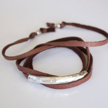 Load image into Gallery viewer, Shae Soft Leather Wrap Bracelet-Liv & B