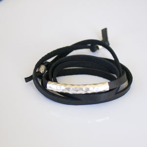 Shae Soft Leather Wrap Bracelet-Liv & B