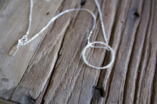 Load image into Gallery viewer, Tranquility Ring Silver Necklace-Liv & B
